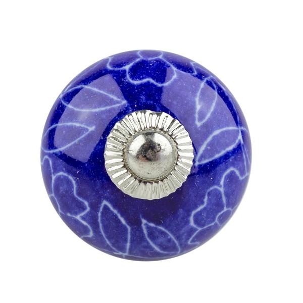 Möbelknopf Möbelknauf Möbelgriff 054 JKGH 5008 blau