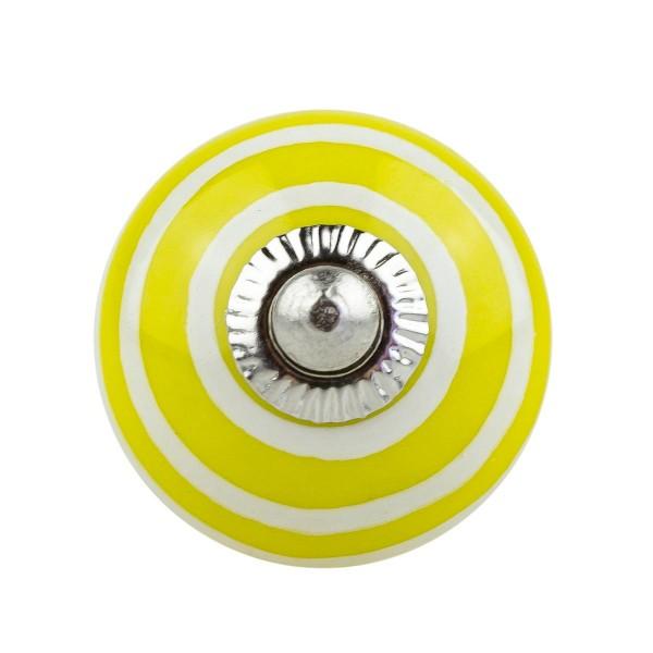 Möbelknopf Möbelknauf Möbelgriff 006 JKGH 1053 gelb