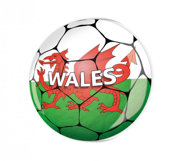 Magnete MG03546 Fussball Wales
