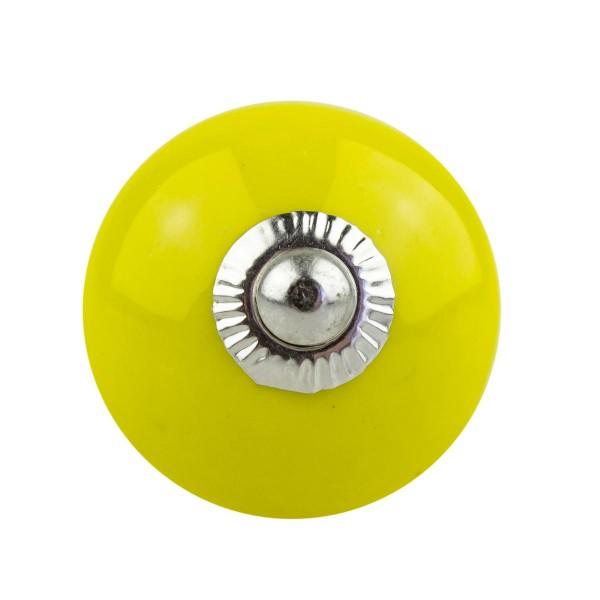 Möbelknopf Möbelknauf Möbelgriff 067 JKGH 4005 gelb