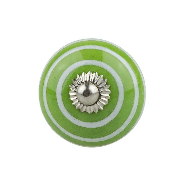 Möbelknopf Möbelknauf Möbelgriff 008GN 1051 grün