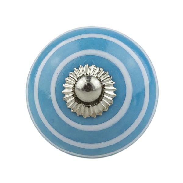 Möbelknopf Möbelknauf Möbelgriff 035GN 1056 blau