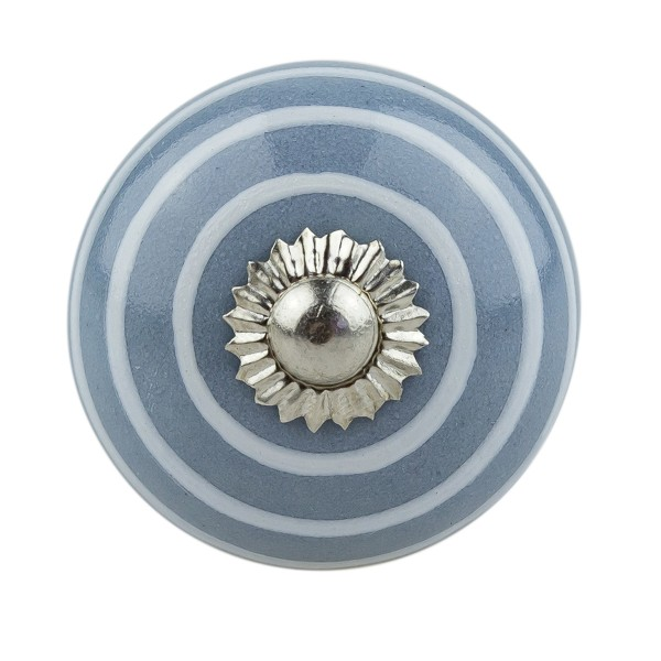 Möbelknopf Möbelknauf Möbelgriff 030GN 1062 grau