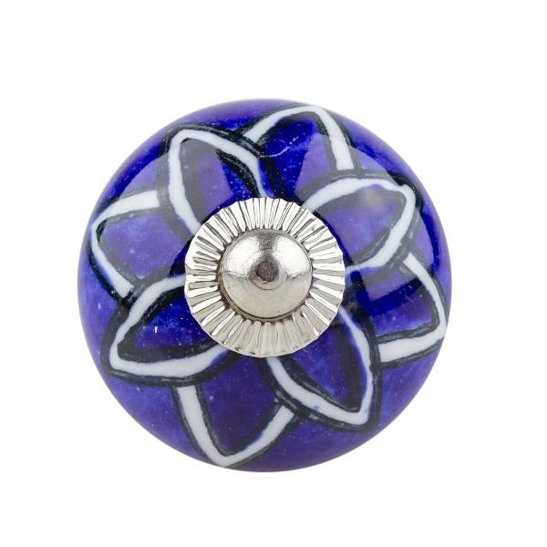 Möbelknopf Möbelknauf Möbelgriff 030 JKGH 5013 blau
