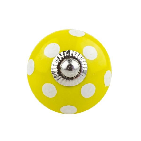 Möbelknopf Möbelknauf Möbelgriff 002 JKGH 1003 gelb